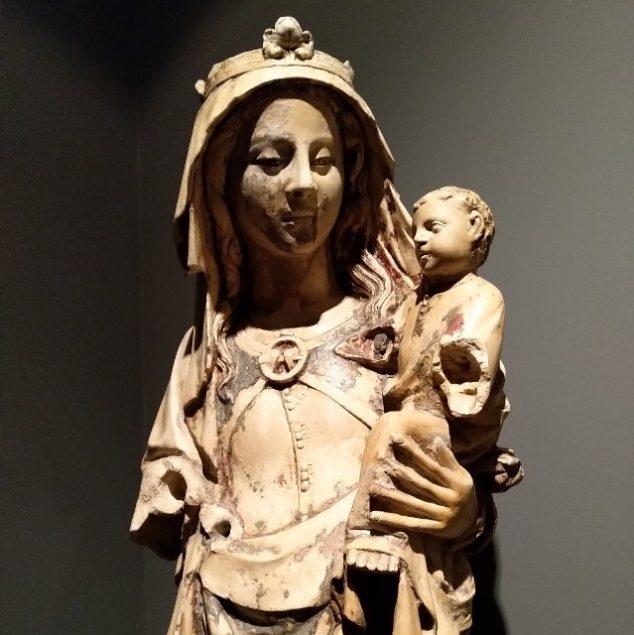 Santa Maria a Formosa. Escultura em calcário policromado. Século XIV.