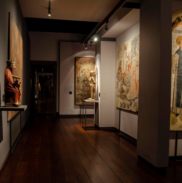Sala de Pintura a Fresco. Vista parcial.