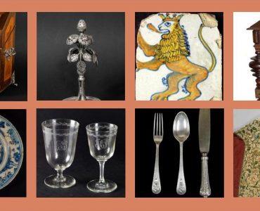 Cartaz do curso online em estudo e peritagem de Artes Decorativas