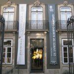 Entrada principal do Palacete Santiago.