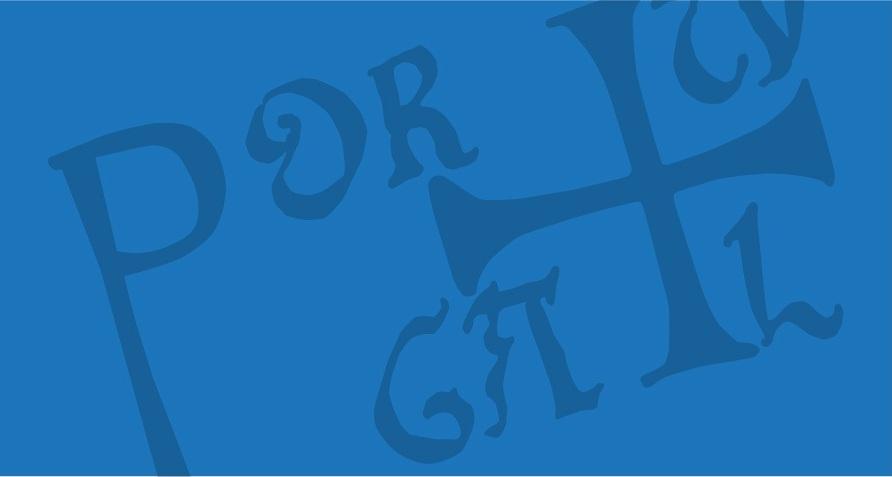 Imagem ilustrativa de curso online com antigo símbolo de Portugal